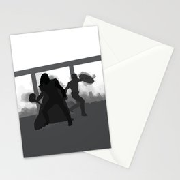 Silhouette Series: Stars & Thunder Stationery Cards