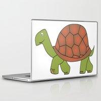 tortoise Laptop & iPad Skins featuring tortoise by siloto