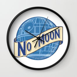 No Moon Brewery Wall Clock