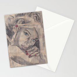 """Ink Painting """"Nelle"""" Stationery Cards"""