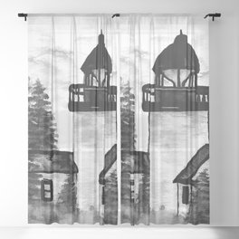 For A Child's Fantasy Sheer Curtain