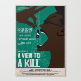 A VIEW TO A KILL Canvas Print