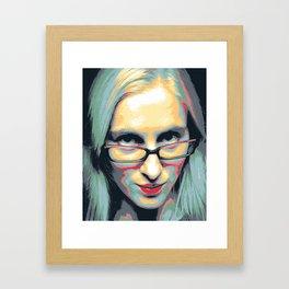 high maintenance Framed Art Print