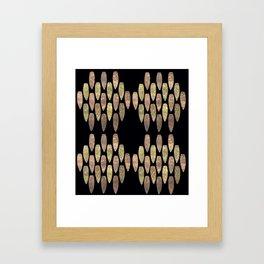 Raining Daggers Framed Art Print