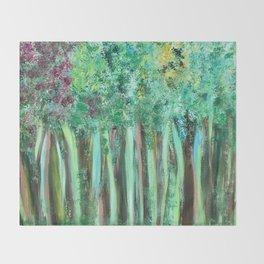 Jennifer's Woods Throw Blanket