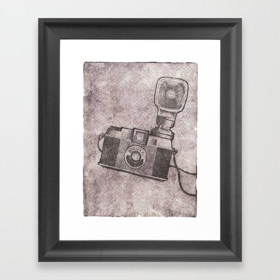 Diana F+ Framed Art Print
