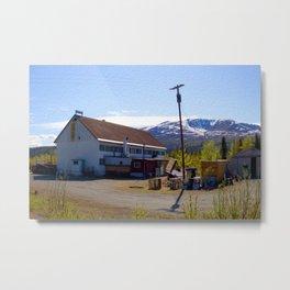 The Lodge Metal Print