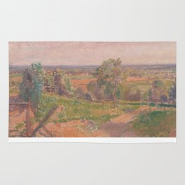 An Extensive Landscape in Yorkshire Rug