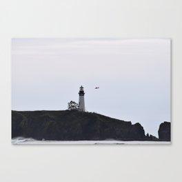 Yaquina Head/ Coast Guard Canvas Print