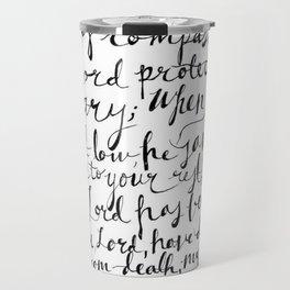 Psalm 116 Bible Verse | Hand Lettered Travel Mug