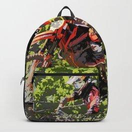 High Flying Racer - Motocross Champ Backpack