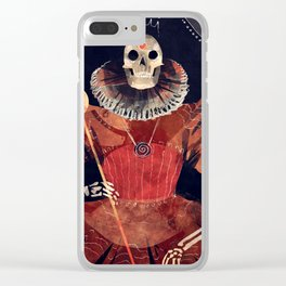 Ancient Queen Clear iPhone Case
