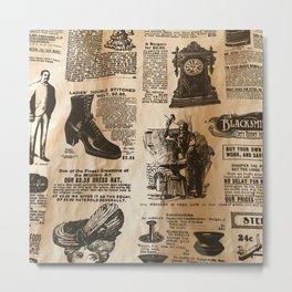 Old Vintage Advertising Part 2 Metal Print