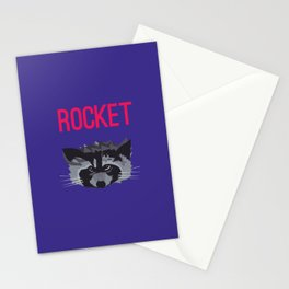 R IS FOR ROCKET, R IS FOR RACOON Stationery Cards