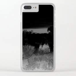 Taos sunset Clear iPhone Case