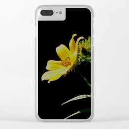 Seeking sunshine Clear iPhone Case