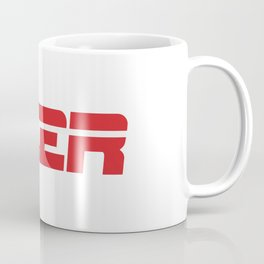 Beer is my Sport (Red Letters White Stripe) Coffee Mug