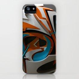 soul 3d graffiti  iPhone Case