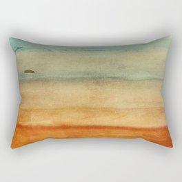 Abstract Seascape No 4: the beach Rectangular Pillow