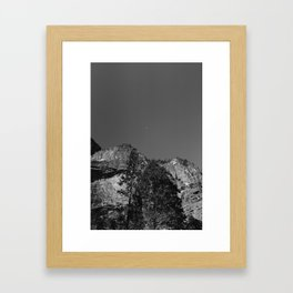 Yosemite Moon III Framed Art Print