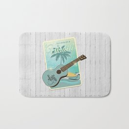 Life is better with an ukulele Bath Mat