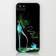high heel2 iPhone (5, 5s) Slim Case