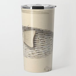 Naturalist Pufferfish Travel Mug