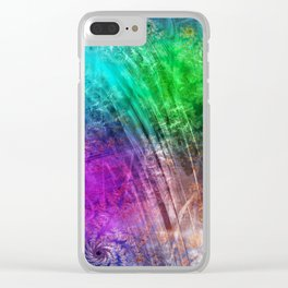 floatin through the love heaven Clear iPhone Case