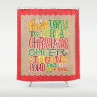 elf Shower Curtains featuring Elf by Jillian Kaye