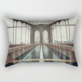 The Brooklyn Bridge Rectangular Pillow