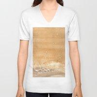 shining V-neck T-shirts featuring The shining by Ivanushka Tzepesh