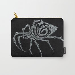Spider in Reverse Carry-All Pouch