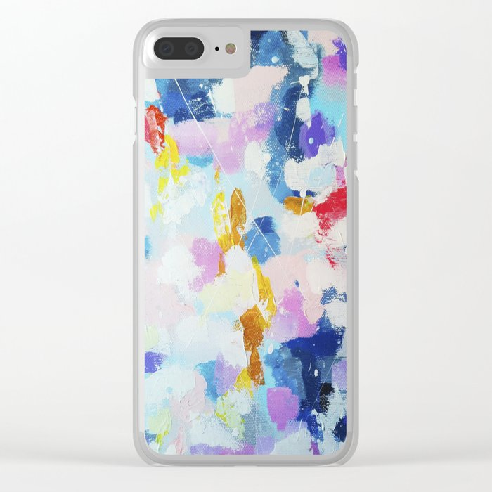 Abstract pattern 2 Clear iPhone Case