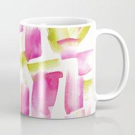 180719 Koh-I-Noor Watercolour Abstract 16| Watercolor Brush Strokes Coffee Mug