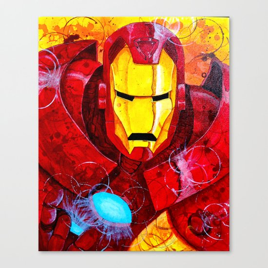 Heroes - Iron Man Canvas Print