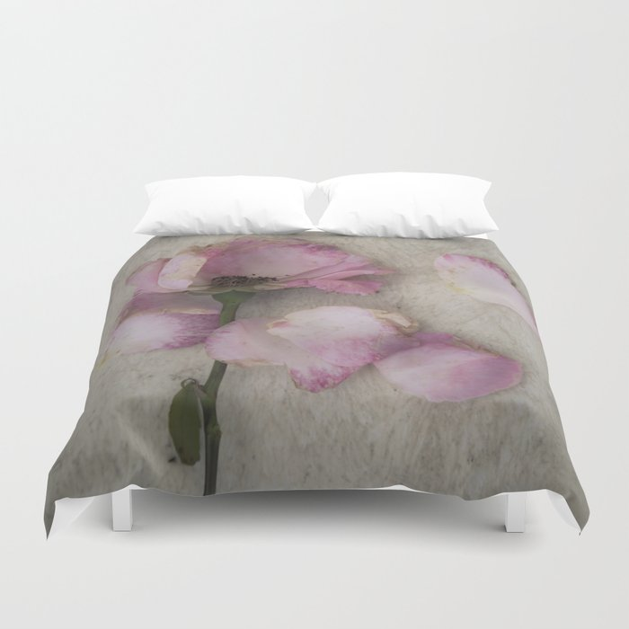 Wilted Rose Duvet Cover