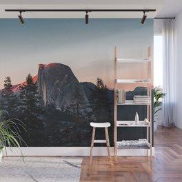 Last Light at Yosemite National Park Wall Mural