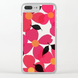 dogwood 13 Clear iPhone Case
