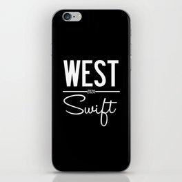 West Swift 2020 iPhone Skin