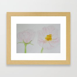 Two Pale | Too Pale Framed Art Print