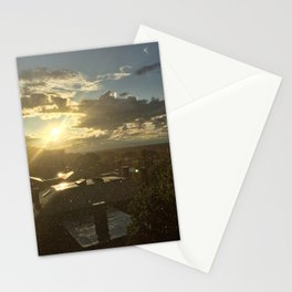Sun Shower in Portland, Maine (3) Stationery Cards