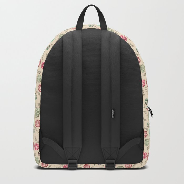 Watercolour Tiny Roses Backpack