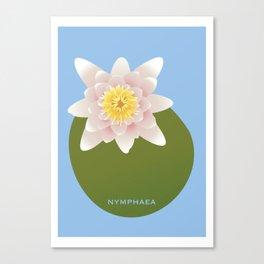 Nymphaea Canvas Print