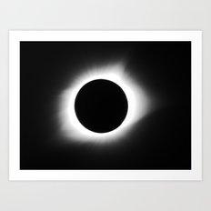 totality 2017 Art Print