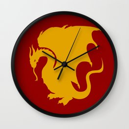 Pendragon Wyvern Wall Clock