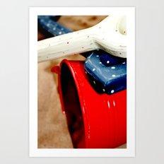 Bucket and Spade Art Print