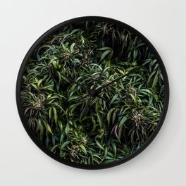 Lavender Mani Goo Wall Clock
