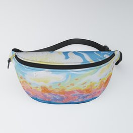 somewhere on pea island Fanny Pack
