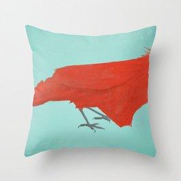 North Cardinalina Throw Pillow