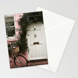A Pink Mews House, Notting Hill Stationery Cards